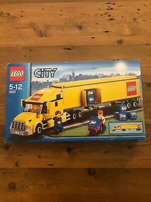 Lego 3221 City Truck New But Box A Mess