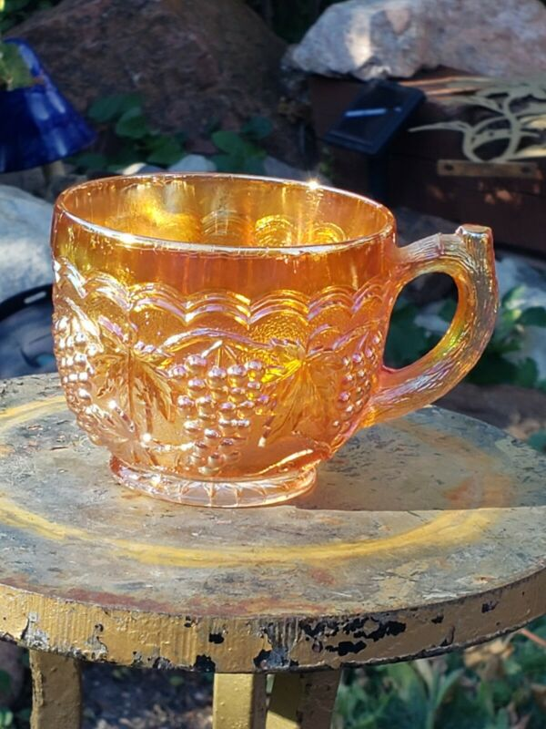 Imperial Glass Marigold Carnival Punch Cup