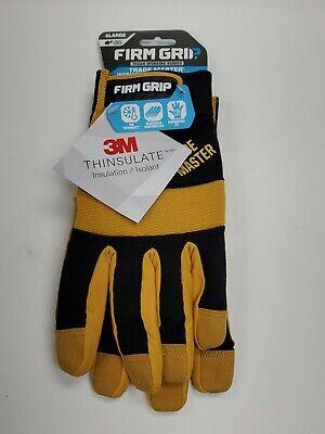 Firm Grip Trade Matser Work Gloves With Thinsulate Liner Xl 6018