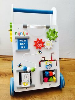 Miffy wooden push walker / educational activity