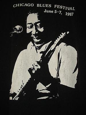 "Chicago Blues Festival Sweatshirt ""Muddy Waters"" front  June 5-7 1987"