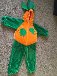 Kids pumpkin costume in size medium (age 6-8).