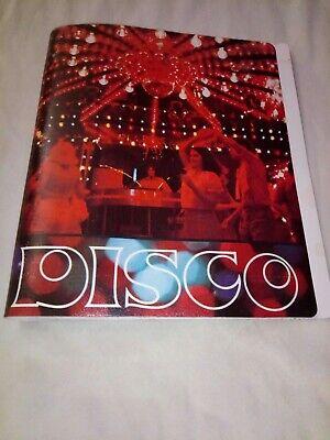 Vintage Disco 3 Ring Poly Binder Colad Inc Nwot