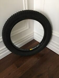 Unicycle rim and tire