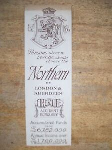 TRADE-BOOKMARK-NORTHERN-INSURANCE-COMPANY-OF-LONDON-AND-ABERDEEN-1907