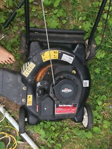 Lawn mower whipper snipper