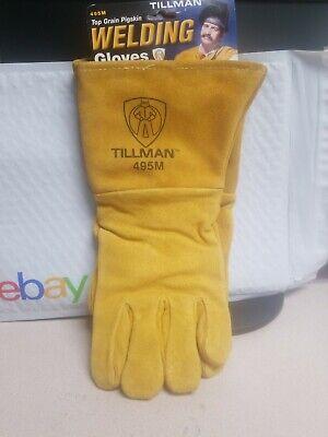 Tillman - 495 - Welding Gloves - Size Medium - Pigskin Material