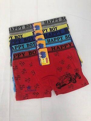 New Lot 5 Boy Kids Short Underwear Spandex Briefs (Jungen Unterwäsche Spandex)
