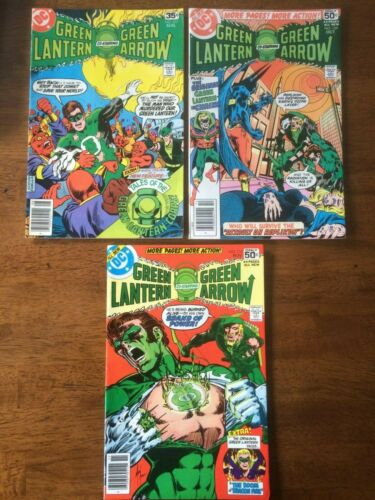Green Lantern  #107, 109,110 Lot of 3(DC Comics 1978) Green Arrow Grell & O