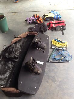 Wake board, case, life jackets, tow ropes Everton Hills Brisbane North West Preview