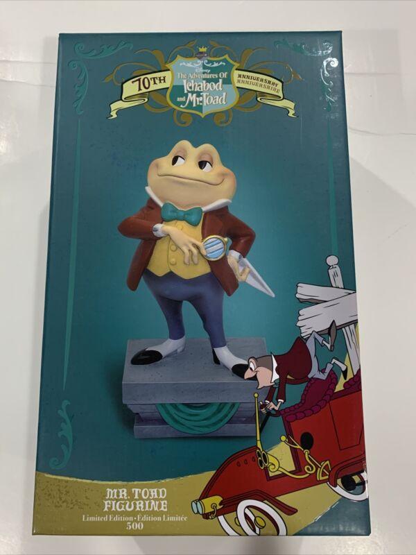 NIB Disney Legacy Collection D23 Ichabod Mr Toad Figurine 70th Anniversary LE500