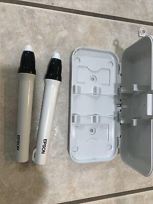 Epson Brightlink ELPPN04 Orange & Blue Pen Set w/ Case