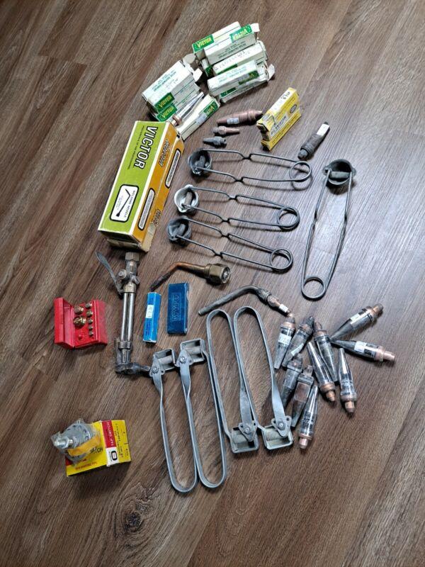 Vintage Victor Welding Equipment Nozzle Lot Used Equipment For Welding