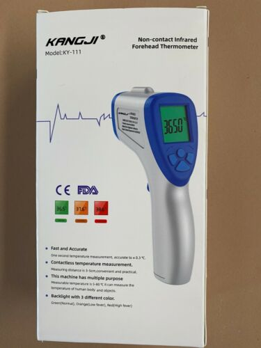 Digital FDA Infrared Thermometer Non-contact Forehead Temperature Gun