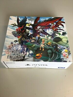 Ps Vita PCH-2000 Sony World Of Final Fantasy en Caja Glacier White Nuevo Japón