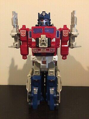 transformers g1 powermaster optimus prime Incomplete