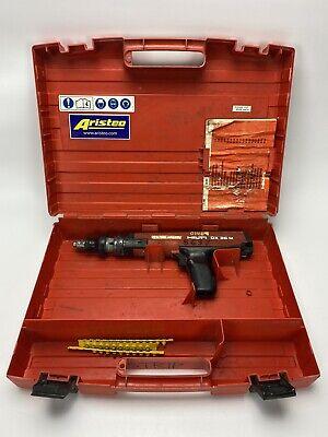 Hilti Dx36m Dx 36 M Powder Actuated Nail Stud Gun Fastening Tool W Case