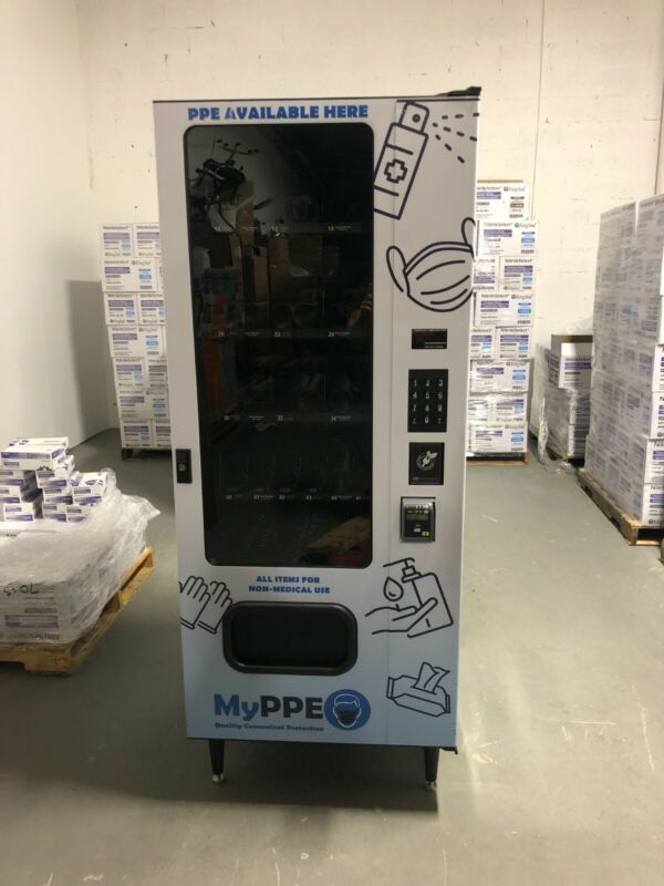 New Vending.com Vending Machines With Credit Card Readers (13 Available)