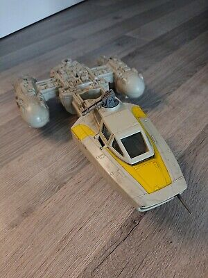 Star Wars Y-WING FIGHTER VEHICLE Toy KENNER 1983