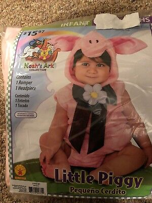 Halloween Costume Infant  Little Piggy 6-12 months or 12 -18 months](Little Piggy Costume)