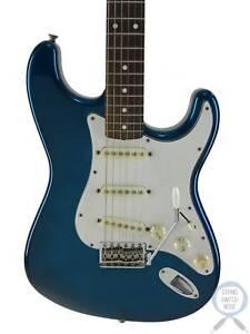 Fender Stratocaster, '62, Placid Blue, 1994, Ann 40 year, Flame Neck