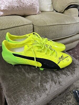 Puma Evospeed SL Match Worn Choupo Moting football boots Player Issue