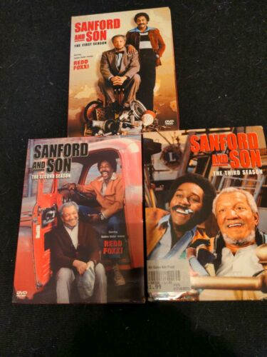 Sanford And Son Complete Seasons 1,2, 3 On Dvd - $18.00