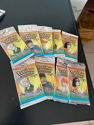 Pokemon Booster Pack Gym Heroes! MINT! -Unweighed- SEALED! Random Pack