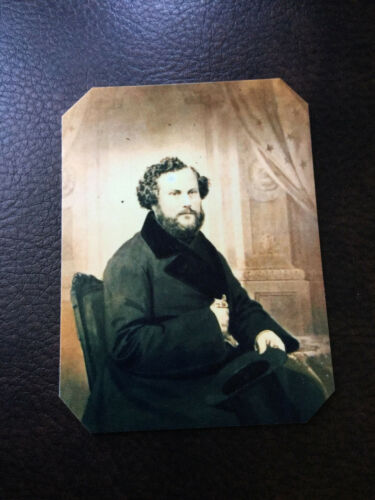 Samuel Colt of famous Colt Firearms historical reproduction tintype C564RP