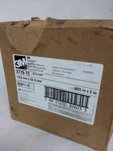 3M Scotch-Weld Hot Melt Adhesive 3779 TC Amber, 5/8 in x 2 in 11LBS