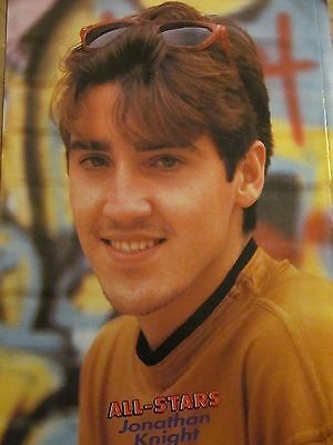 Jonathan Knight, New Kids on the Block, Full Page Vintage Pinup