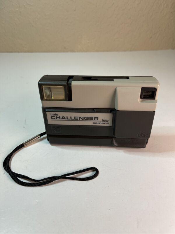 Vintage KODAK Tele Challenger Disc Camera 1985 Tested/Works!