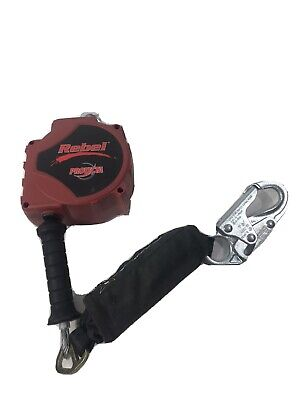 Protecta 3590018 Rebel Self Retracting Lifeline 15ft. Safety Fall Protection