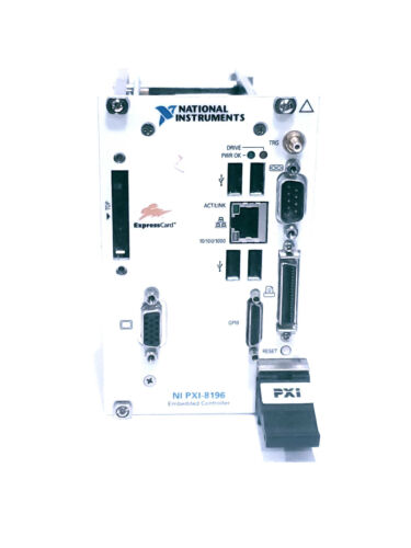 National Instruments NI PXI-8196 2.0 GHz Pentium M 760 Embedded Controller