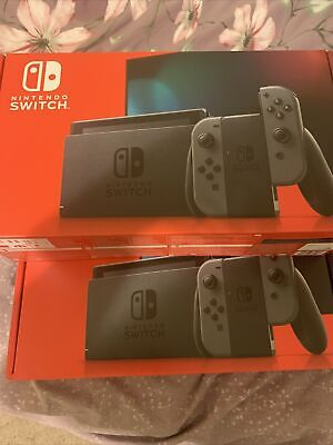 ✅Nintendo Switch HAC-001(-01) 32GB Console with Gray Joy‑Con Ships QUICK!