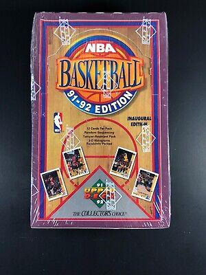1991-92 Upper Deck NBA Basketball Box Unopened Cards-PSA 10 Jordan??