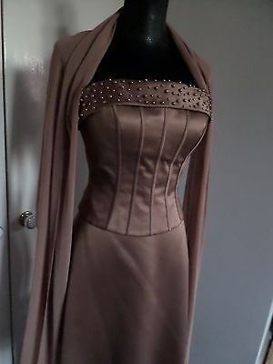 Proposals 3 Piece Outfit Prom/Theatre Skirt/Bustier/Scarf Silky Size 8 Luxury 3-piece Kleid Outfit
