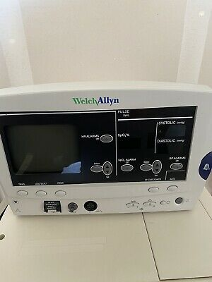 Welch Allyn 6200 Series Patient Vital Signs Monitor Good Condition Power Tested