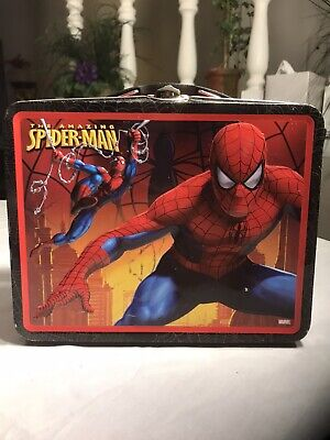 Spiderman Tin  Lunch Box, The Amazing Spiderman, Spider Man