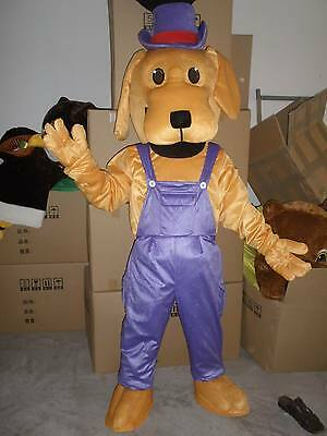 Cool Costums (Cool Dog Mascot Costume Fancy Dress Adult Size Party Wear)