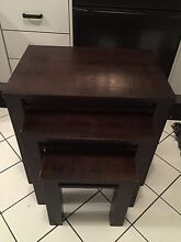 Dark Brown Coffee Table Set Meadow Heights Hume Area Preview
