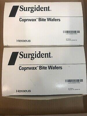 Heraeuskulzer Surgident Coprwax Bite Wafers Box-84