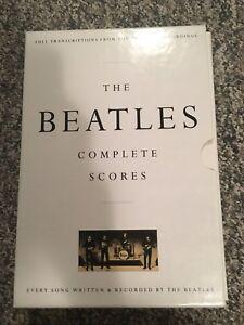 The Beatle Complete Score Book