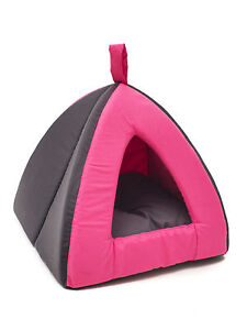 Dome-Tenda-per-Cane-Gatto-Cuccia-Tenda-Cuccia-Cesta-Rose-35-x-35-x-H-30-cm