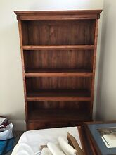 Balinese timber bookcase for sale  1850 x 940 x 350 mm Balmain Leichhardt Area Preview