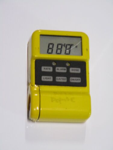 Canberra Model MRAD113 Personal Radiation Detector Monitor MRAD 113 M RAD 113