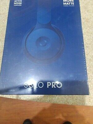 Beats Solo Pro Wireless Headphones Matte Dark Blue Pharrell Williams BRAND NEW
