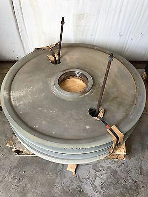 Crane Wire Rope Sheave 50 Od 1-58 Wire 3-12 Rim Width 10-78 Hub Id Nos