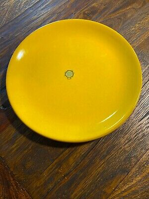 """1 Mamma Ro Classic Collection Yellow Dinner Plate Available 10"""" Diameter Italy~~"""