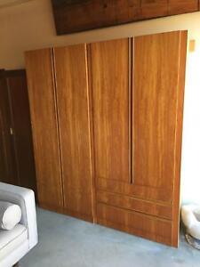 Wardrobe,bedroom storage, cupboard,art deco,WE CAN DELIVER Brunswick Moreland Area Preview